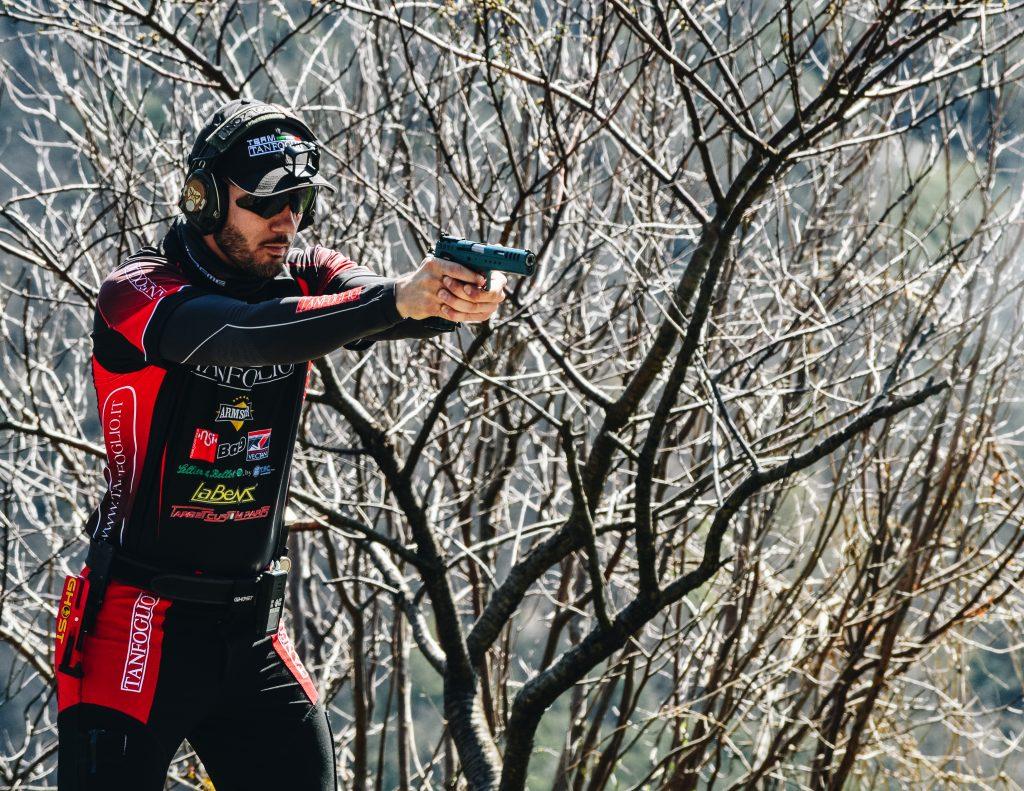Giacomo Bolzoni at the range
